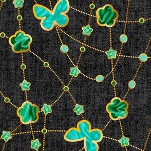 Malachite Flowers