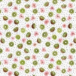 Kiwi & dots very small