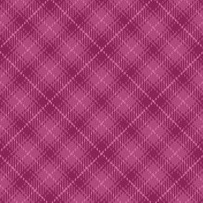07495151 : bias tartan : berry pink