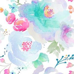 Indy Bloom Design Floral blues B2
