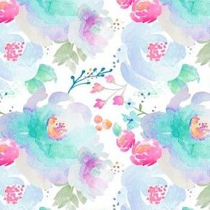Indy Bloom Design Floral blues A