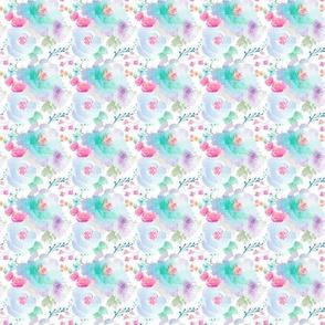 Indy Bloom Design Floral blues MINI