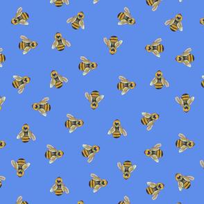 Honeybees (Blue)