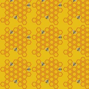 Honeycomb (Golden)