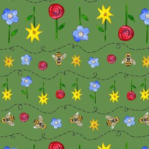 Flower Bee Garden
