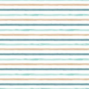 Thin Watercolor Stripe
