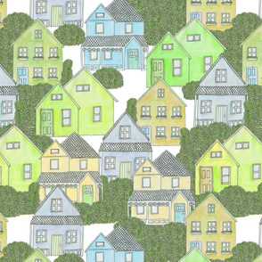 Houses (green)