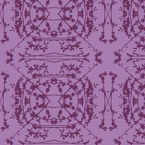 China (Plum on Purple)