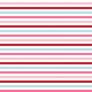 Pink and Red Stripes - Anaheim