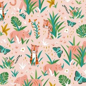 Endangered Wilderness - Pink