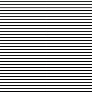 SMALL Black and White Anaheim Stripes
