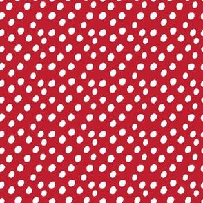 SMALL Red Polkadots Anaheim