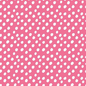 SMALL Pink Polka Dots Anaheim