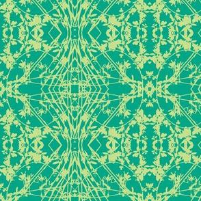 Zig-zag (Green & Lime)