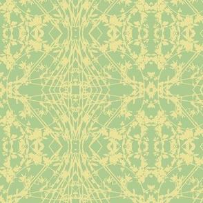 Zig-zag (Yellow & Lime)