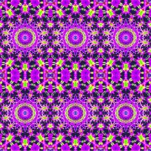 Floating Purple Lotus
