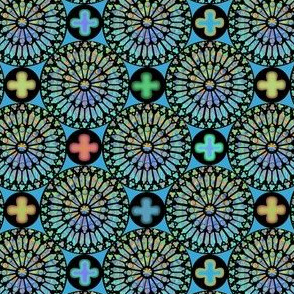the rose window turquoise ©2011