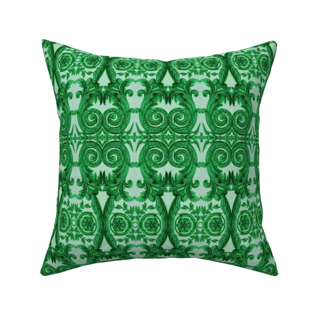 Catalan Throw Pillow featuring 17eme siecle 40 by hypersphere