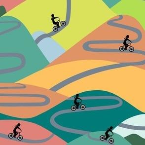 Mountain rides - summer