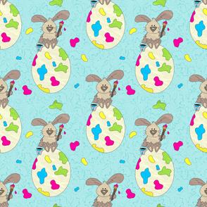 Rabbit the painter