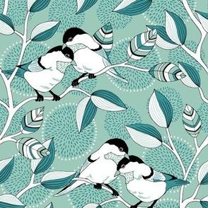 Love Birds - Limited Palette