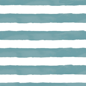 Nautical Watercolor Stripes