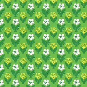 FUN FLORAL 2 green