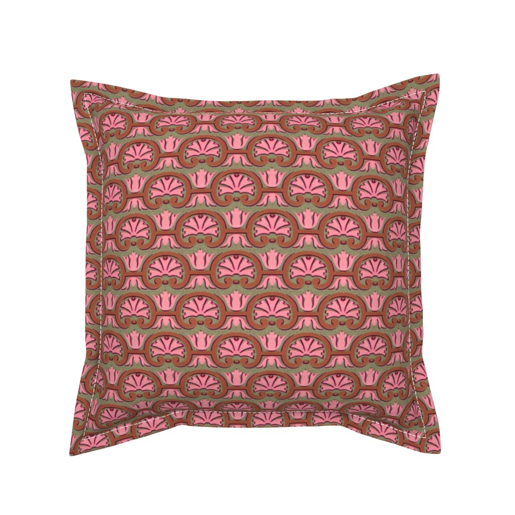 Serama Throw Pillow featuring 17eme siecle 56 by hypersphere