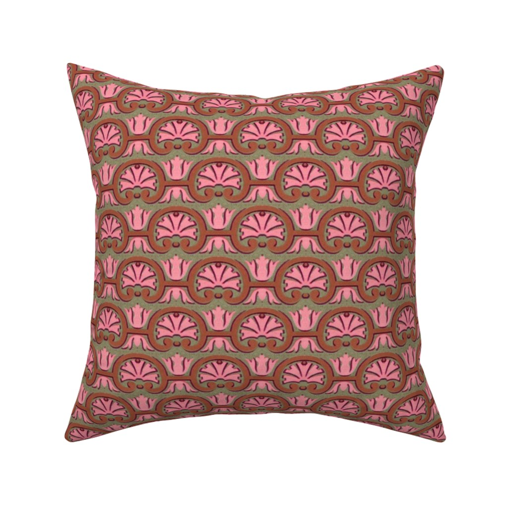 Catalan Throw Pillow featuring 17eme siecle 56 by hypersphere