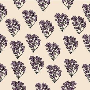 Purple Berry Floral Bouquet