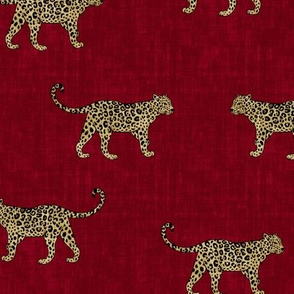 Leopard Texture - Red