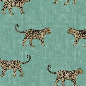 Leopard Texture - Mint