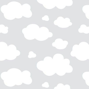 clouds on grey