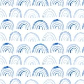 Light blue watercolor archs pattern    tender design for nursery