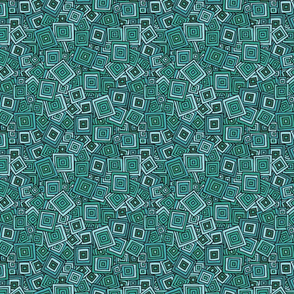 Squares A - Turquoise-01
