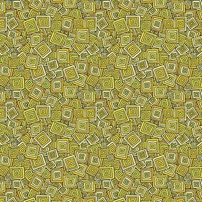 Organic Geometry - Yellow Squares
