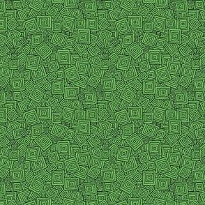 Organic Geometry - Plain Green