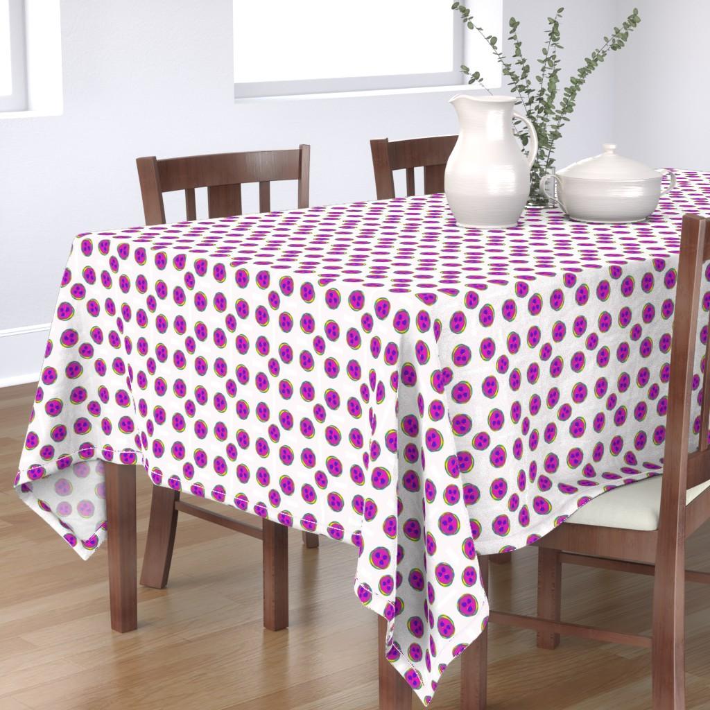 Bantam Rectangular Tablecloth featuring Five by kae50