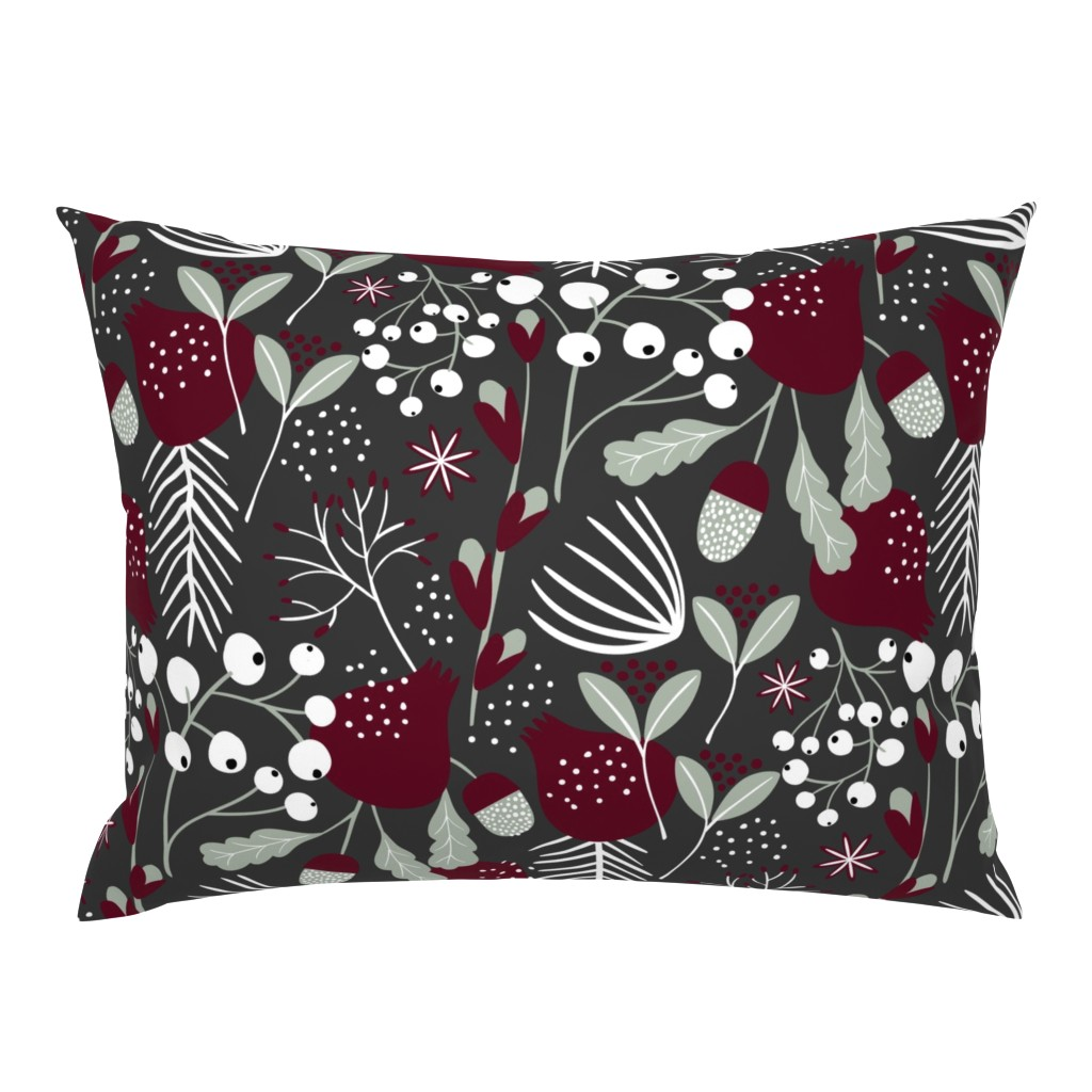 Campine Pillow Sham featuring Elegant Christmas by melarmstrong