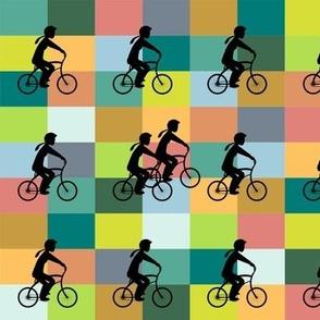 Mountain ride colour blocks- summer
