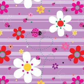 FlowersWithLadybugsPurple_90Degrees_CW