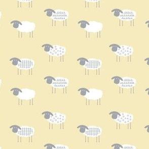 Tiny Sheep | Yellow