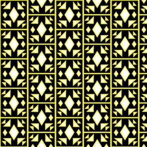 yellow Tribal Square