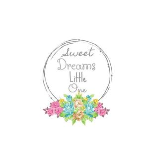 Sweet Dreams shabby rose twig wreath FQ - mint pink-ed