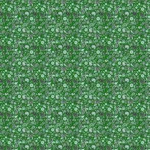 420 Paisley Dollclothes Green