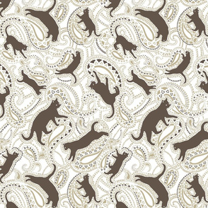 Cats-kittens-paisley-ornamental-grey-brown-white-big