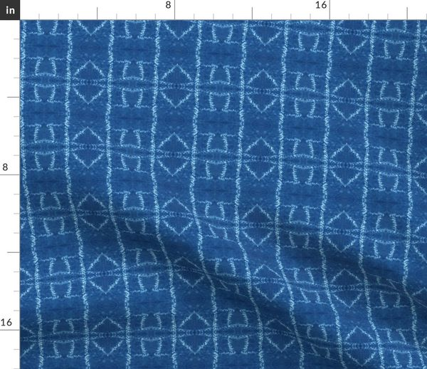 Fabric by the Yard Ori Nui Square