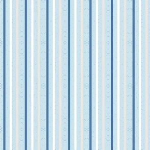 stripes on light blue small