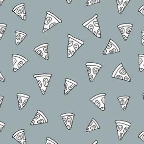 I love Italy italian food design pizza slice gender neutral gray cooking design