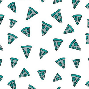 I love Italy italian food design pizza slice gender neutral blue cooking design
